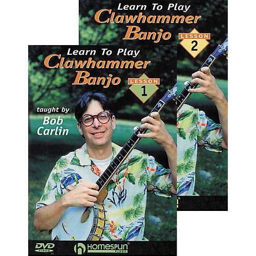 Homespun Clawhammer Banjo 2-DVD Set