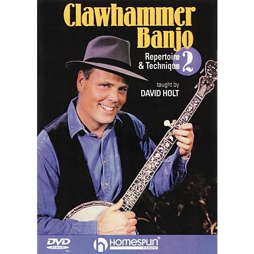 Homespun Clawhammer Banjo 2 (DVD)