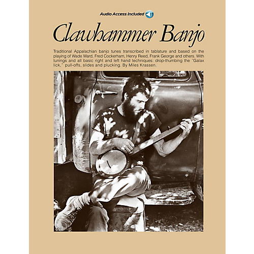 Music Sales Clawhammer Banjo Music Sales America Series Softcover with CD-thumbnail
