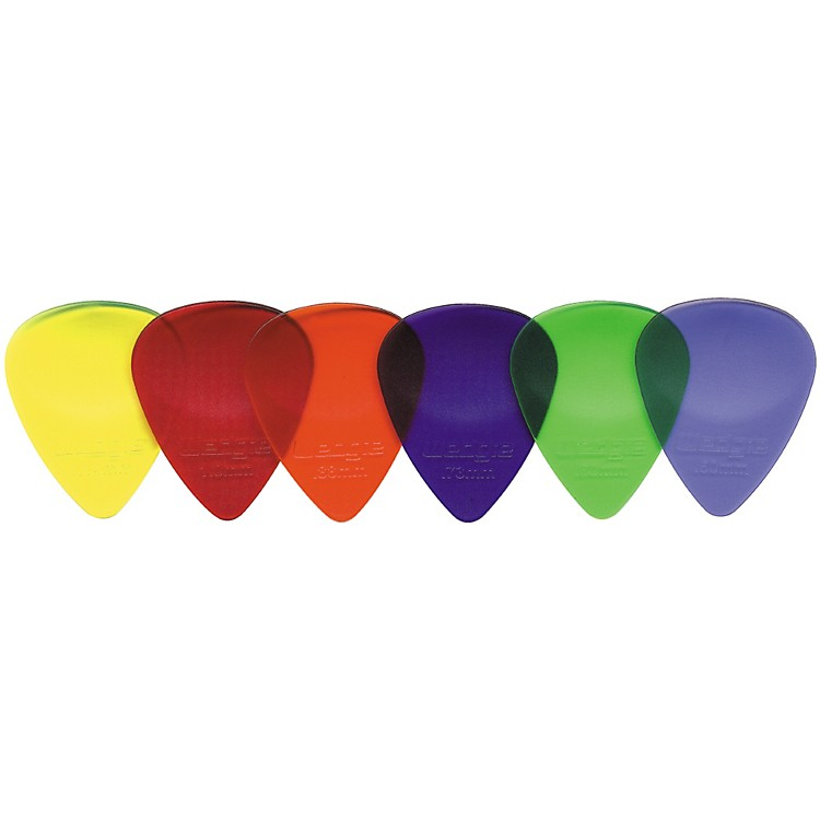 Wedgie Clear XL Guitar Picks 1 Dozen
