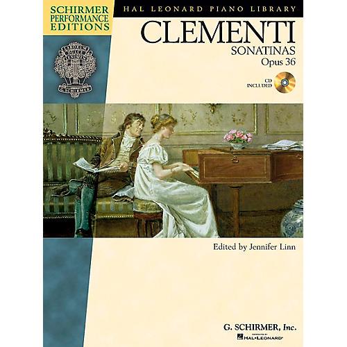 G. Schirmer Clementi Sonatinas Op 36 Book/CD - Schirmer Performance Edition By Clementi / Linn-thumbnail