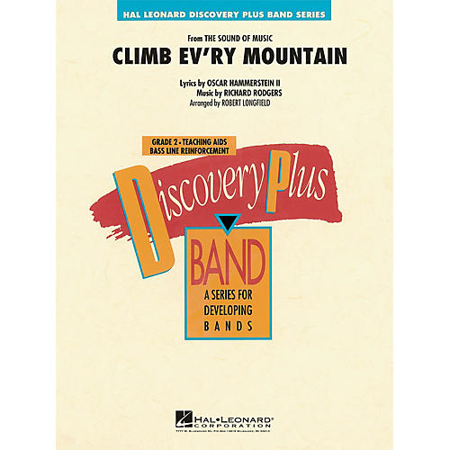 Hal Leonard Climb Ev'ry Mountain (from The Sound of Music) - Discovery Plus Band Series Level 2 arranged by Longfield-thumbnail