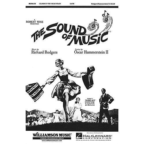 Hal Leonard Climb Ev'ry Mountain (from The Sound of Music) SATB arranged by Charles Smith-thumbnail