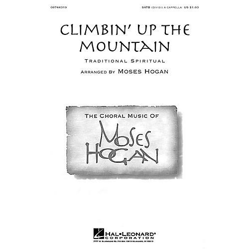 Hal Leonard Climbin' Up the Mountain SATB DV A Cappella arranged by Moses Hogan-thumbnail