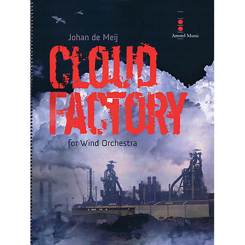 Amstel Music Cloud Factory (for Wind Orchestra) Concert Band Level 4 Composed by Johan de Meij-thumbnail