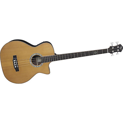 Michael Kelly Club Deluxe 4-String Acoustic-Electric Bass-thumbnail