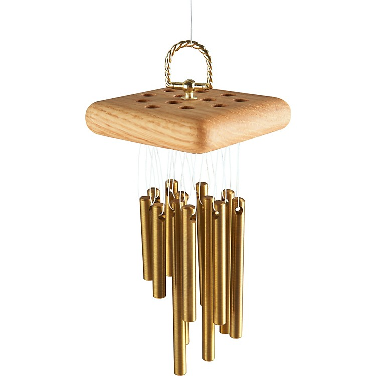 A Days Work Cluster Chimes 12 Brass Bars