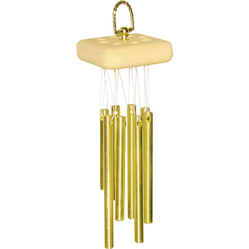A Days Work Cluster Chimes Mini 8 Brass