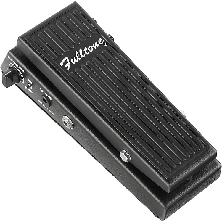 Fulltone Clyde Deluxe Wah Guitar Effects Pedal Black