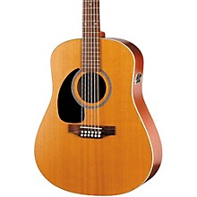 Seagull Coastline Series S12 Left-Handed 12-String QI Dreadnought Acoustic-Electric Guitar Level 1 Natural