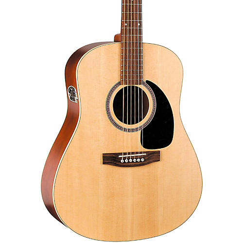Seagull Coastline Series S6 Dreadnought QI Acoustic-Electric Guitar Natural