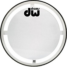 Open BoxDW Coated Clear Bass Drum Head