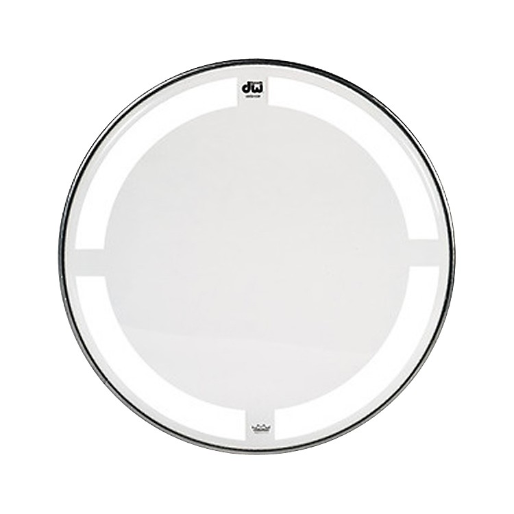 DW Coated/Clear Tom Batter Drumhead  8 Inch