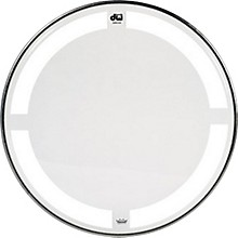 DW Coated/Clear Tom Batter Drumhead 8 in.