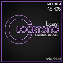 Cleartone Coated Medium Electric Bass Guitar Strings
