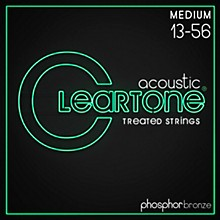 Cleartone Coated Phosphor-Bronze Medium Acoustic Guitar Strings