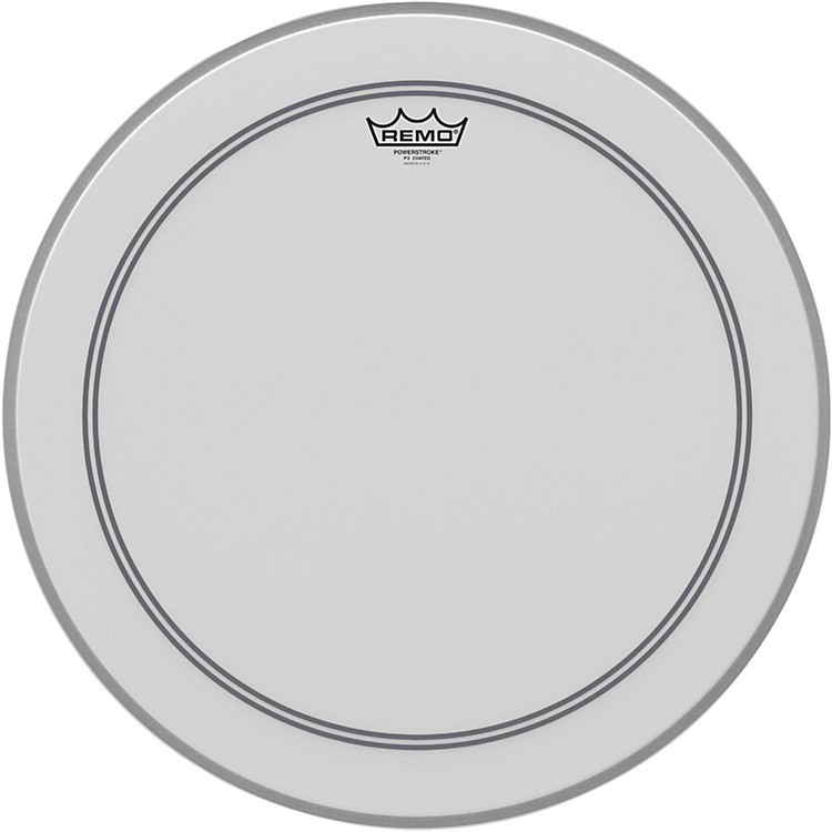 RemoCoated Powerstroke 3 Bass Drum Head20 Inches