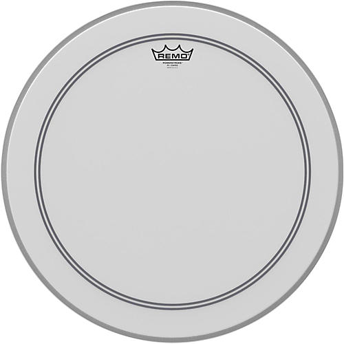 remo coated powerstroke 3 bass drum head 20 in musician 39 s friend. Black Bedroom Furniture Sets. Home Design Ideas