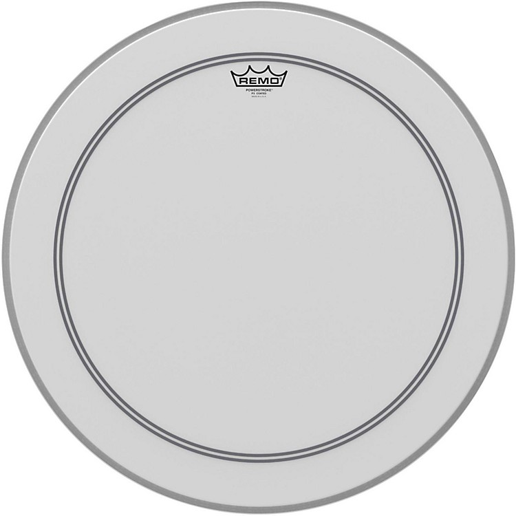 Remo Coated Powerstroke 3 Bass Drum Head  22 Inches