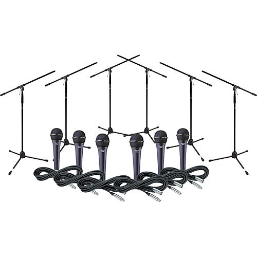 Electro-Voice Cobalt 5 Six Pack with Cables & Stands