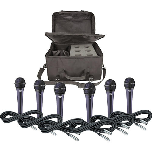 Electro-Voice Cobalt 5 Three Pack with Cables & Bag