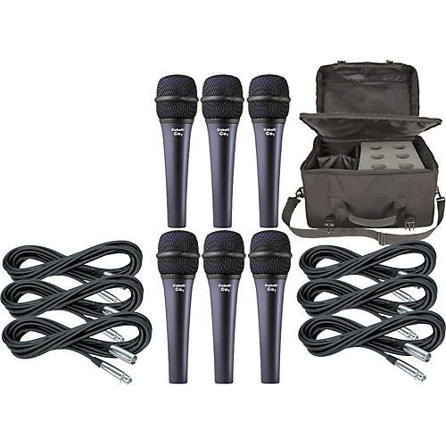 Electro-Voice Cobalt 7 Six Pack with Cables & Bag-thumbnail