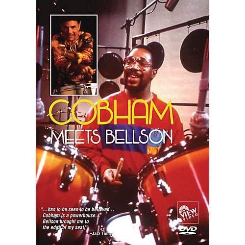 View Video Cobham Meets Bellson Instructional/Drum/DVD Series DVD Performed by Billy Cobham-thumbnail