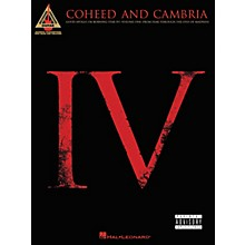 Hal Leonard Coheed and Cambria Good Apollo I'm Burning Star IV Volume 1 Guitar Tab Songbook