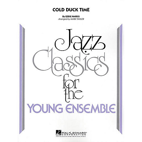 Hal Leonard Cold Duck Time Jazz Band Level 3 Arranged by Mark Taylor-thumbnail