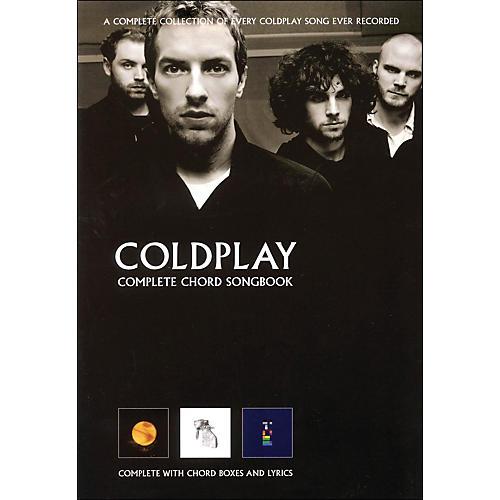 Hal Leonard Coldplay - Complete Chord Songbook