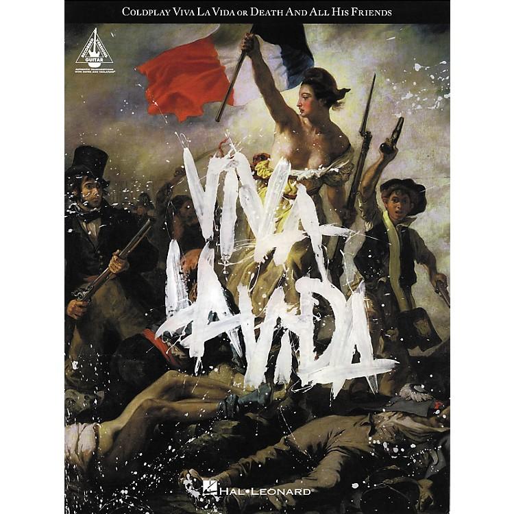 Hal LeonardColdplay - Viva La Vida Guitar Tab Songbook