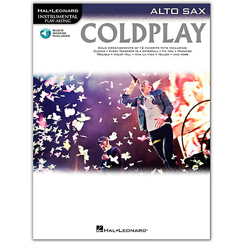 Hal Leonard Coldplay For Alto Sax - Instrumental Play-Along Book/Online Audio