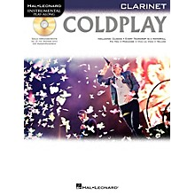 Hal Leonard Coldplay For Clarinet - Instrumental Play-Along CD/Pkg