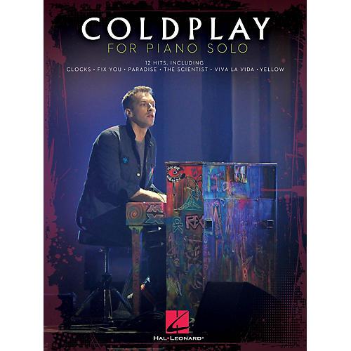 Hal Leonard Coldplay For Piano Solo
