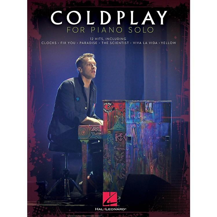 Hal LeonardColdplay For Piano Solo