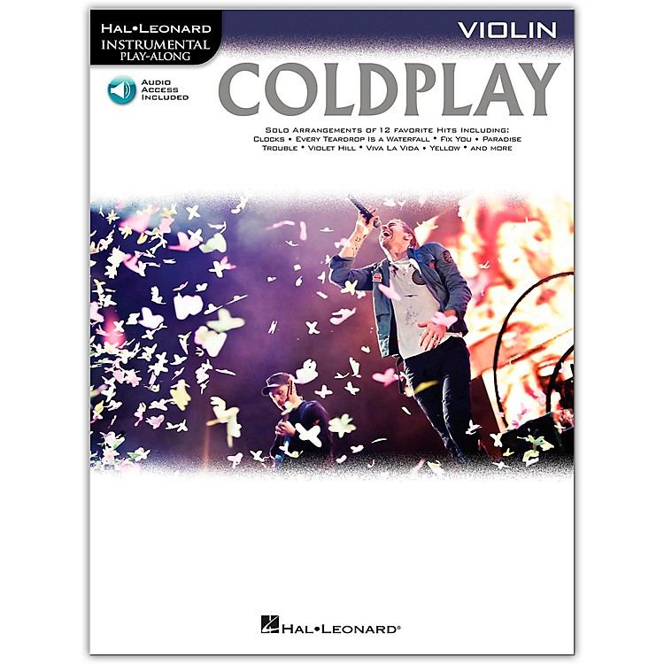 Hal Leonard Coldplay For Violin - Instrumental Play-Along CD/Pkg