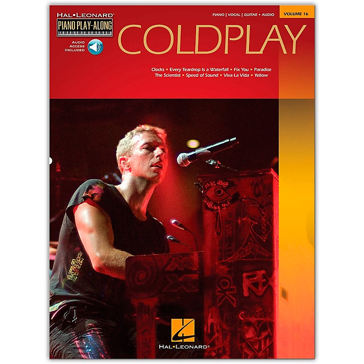 Hal Leonard Coldplay Piano Play-Along Volume 16 Book/CD