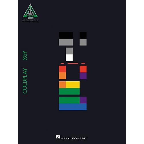 Hal Leonard Coldplay X & Y Guitar Tab Songbook