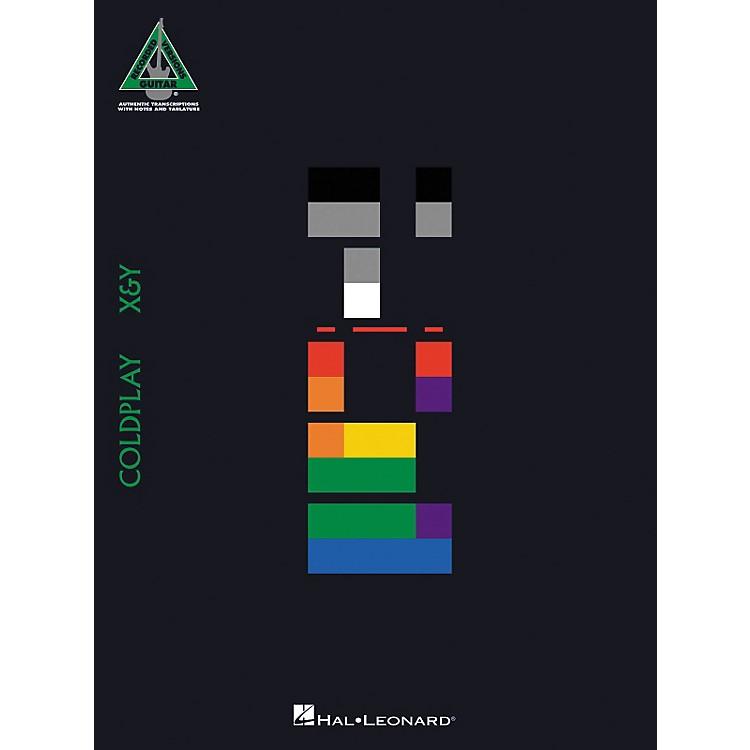 Hal LeonardColdplay X & Y Guitar Tab Songbook