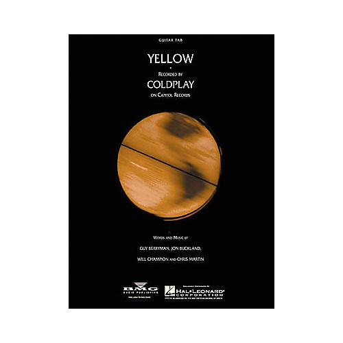 Hal Leonard Coldplay: Yellow Guitar (Sheet Music)-thumbnail