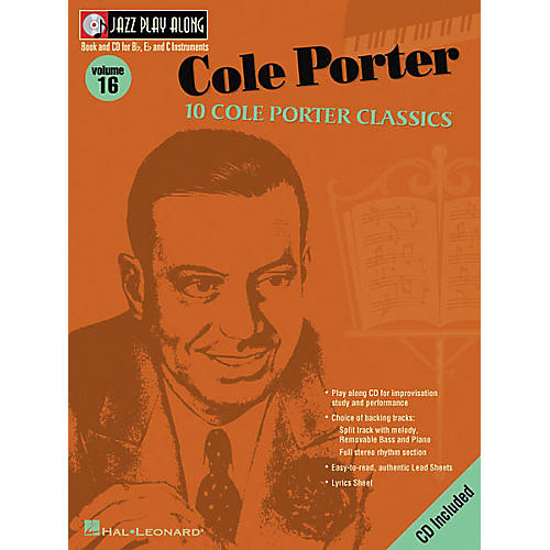 Hal Leonard Cole Porter - Jazz Play Along Volume 16 Book with CD