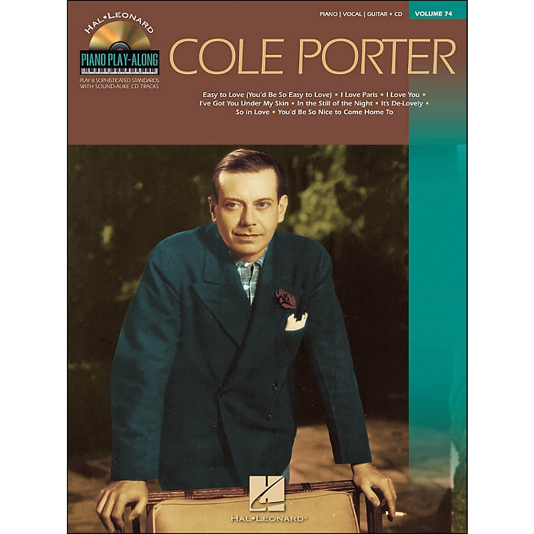 Hal Leonard Cole Porter - Piano Play-Along Volume 74 (CD/Pkg) arranged for piano, vocal, and guitar (P/V/G)