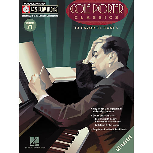 Hal Leonard Cole Porter Classics - Jazz Play Along Volume 71 Book with CD-thumbnail