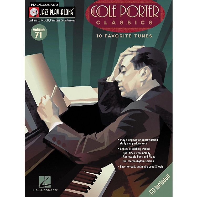 Hal Leonard Cole Porter Classics - Jazz Play Along Volume 71 Book with CD