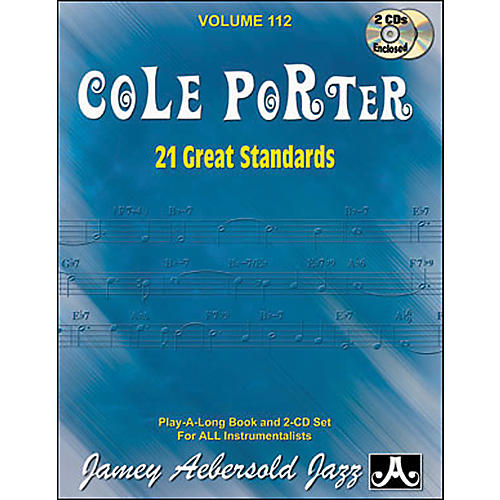 Jamey Aebersold Cole Porter Play-Along Great Standards Book and CDs