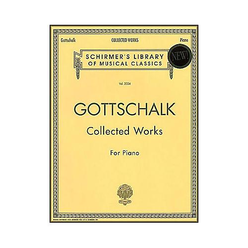 G. Schirmer Collected Works Gottschalk Piano Centennial Edition By Gottschalk