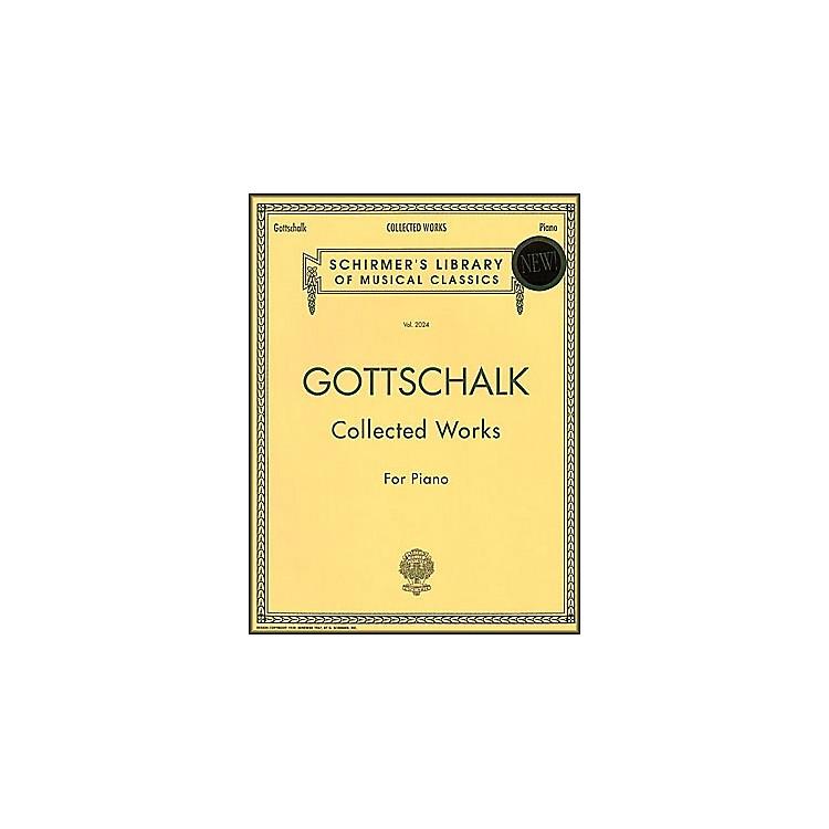 G. SchirmerCollected Works Gottschalk Piano Centennial Edition By Gottschalk