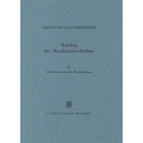 G. Henle Verlag Collectio Maximilianea Henle Books Series Softcover
