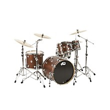 DW Collector's Series 4-Piece Shell Pack Twisted Walnut Chrome Hardware