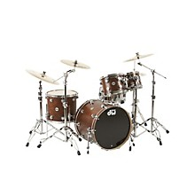 DW Collector's Series 4-Piece Shell Pack Walnut Chrome Hardware